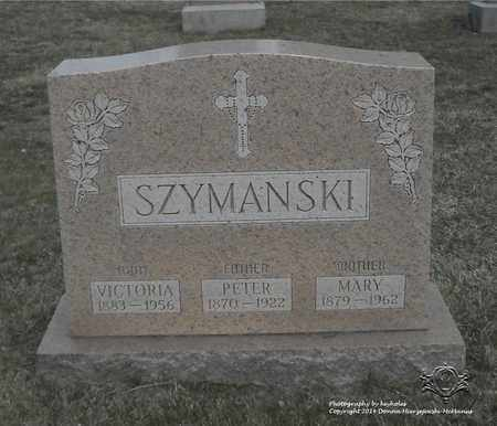 SZYMANSKI, PETER - Lucas County, Ohio | PETER SZYMANSKI - Ohio Gravestone Photos