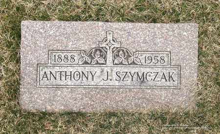 SZYMCZAK, ANTHONY J. - Lucas County, Ohio | ANTHONY J. SZYMCZAK - Ohio Gravestone Photos