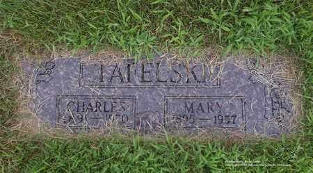 TAFELSKI, CHARLES - Lucas County, Ohio | CHARLES TAFELSKI - Ohio Gravestone Photos