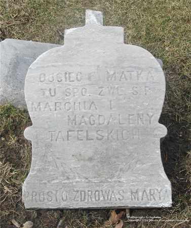 TAFELSKI, MARTIN - Lucas County, Ohio | MARTIN TAFELSKI - Ohio Gravestone Photos