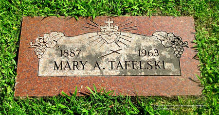 TAFELSKI, MARY A. - Lucas County, Ohio   MARY A. TAFELSKI - Ohio Gravestone Photos