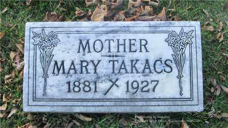 TAKACS, MARY - Lucas County, Ohio | MARY TAKACS - Ohio Gravestone Photos