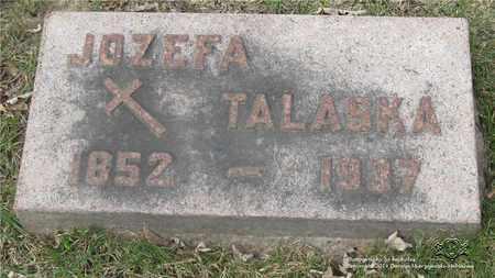 NAPIERALA TALASKA, JOZEFA - Lucas County, Ohio | JOZEFA NAPIERALA TALASKA - Ohio Gravestone Photos
