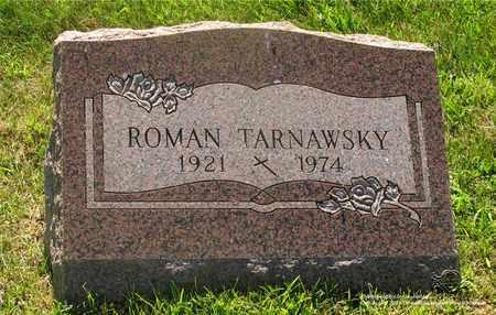 TARNAWSKY, ROMAN - Lucas County, Ohio | ROMAN TARNAWSKY - Ohio Gravestone Photos