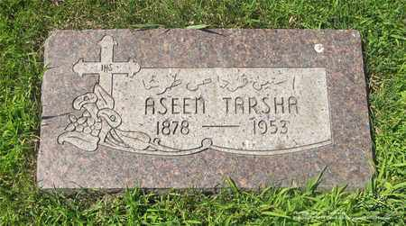 TARSHA, ASEEN - Lucas County, Ohio | ASEEN TARSHA - Ohio Gravestone Photos