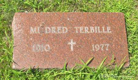 TERBILLE, MILDRED - Lucas County, Ohio | MILDRED TERBILLE - Ohio Gravestone Photos