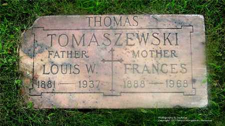 THOMAS, FRANCES - Lucas County, Ohio | FRANCES THOMAS - Ohio Gravestone Photos