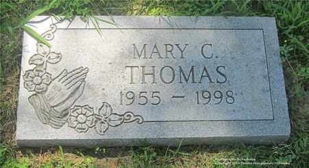 THOMAS, MARY C. - Lucas County, Ohio | MARY C. THOMAS - Ohio Gravestone Photos