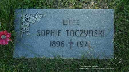 TOCZYNSKI, SOPHIE - Lucas County, Ohio | SOPHIE TOCZYNSKI - Ohio Gravestone Photos