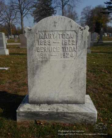 TODA, BERNICE - Lucas County, Ohio | BERNICE TODA - Ohio Gravestone Photos