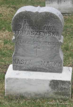 TOMASZEWSKA, STANISLAWA - Lucas County, Ohio | STANISLAWA TOMASZEWSKA - Ohio Gravestone Photos