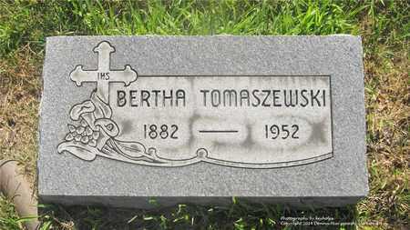 BUKOWSKI TOMASZEWSKI, BERTHA - Lucas County, Ohio | BERTHA BUKOWSKI TOMASZEWSKI - Ohio Gravestone Photos