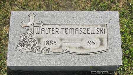 TOMASZEWSKI, WALTER - Lucas County, Ohio | WALTER TOMASZEWSKI - Ohio Gravestone Photos