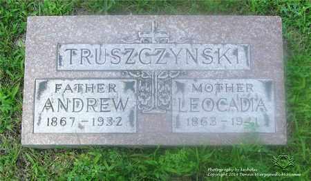 TRUSZCZYNSKI, LEOCADIA - Lucas County, Ohio | LEOCADIA TRUSZCZYNSKI - Ohio Gravestone Photos