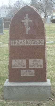 CHUDY TRZASKOWSKI, MARY - Lucas County, Ohio | MARY CHUDY TRZASKOWSKI - Ohio Gravestone Photos