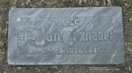 TRZNADEL, JAN - Lucas County, Ohio | JAN TRZNADEL - Ohio Gravestone Photos