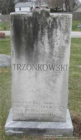 TRZONKOWSKI, FRANCISZEK - Lucas County, Ohio | FRANCISZEK TRZONKOWSKI - Ohio Gravestone Photos