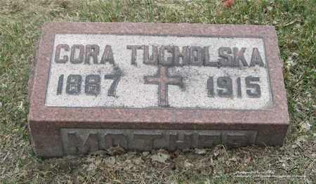 TUCHOLSKA, CORA - Lucas County, Ohio | CORA TUCHOLSKA - Ohio Gravestone Photos