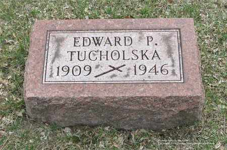 TUCHOLSKA, EDWARD P. - Lucas County, Ohio | EDWARD P. TUCHOLSKA - Ohio Gravestone Photos