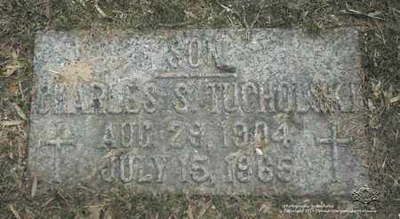 TUCHOLSKI, CHARLES S. - Lucas County, Ohio | CHARLES S. TUCHOLSKI - Ohio Gravestone Photos