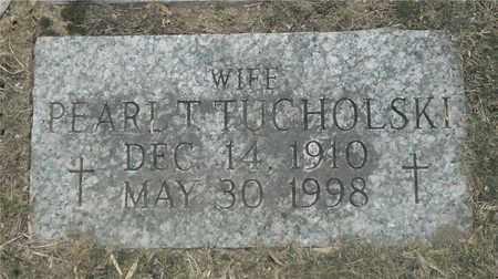 TUCHOLSKI, PEARL T. - Lucas County, Ohio | PEARL T. TUCHOLSKI - Ohio Gravestone Photos