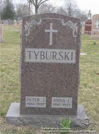 TYBURSKI, PETER - Lucas County, Ohio | PETER TYBURSKI - Ohio Gravestone Photos