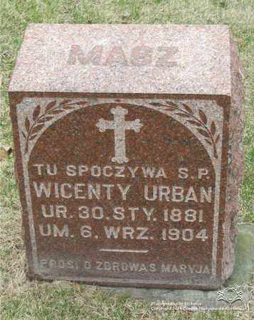 URBAN, WICENTY - Lucas County, Ohio | WICENTY URBAN - Ohio Gravestone Photos