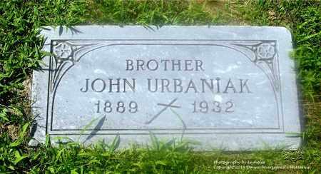URBANIAK, JOHN - Lucas County, Ohio | JOHN URBANIAK - Ohio Gravestone Photos