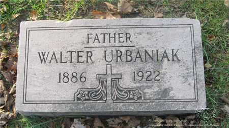 URBANIAK, WALTER - Lucas County, Ohio | WALTER URBANIAK - Ohio Gravestone Photos