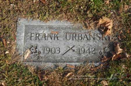 URBANSKI, FRANK - Lucas County, Ohio | FRANK URBANSKI - Ohio Gravestone Photos