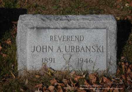 URBANSKI, JOHN A. - Lucas County, Ohio | JOHN A. URBANSKI - Ohio Gravestone Photos