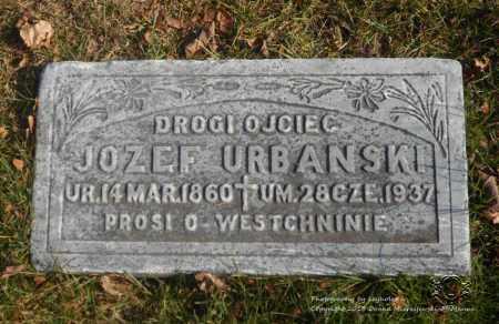 URBANSKI, JOZEF - Lucas County, Ohio | JOZEF URBANSKI - Ohio Gravestone Photos