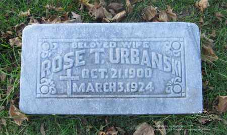 URBANSKI, ROSE T. - Lucas County, Ohio | ROSE T. URBANSKI - Ohio Gravestone Photos