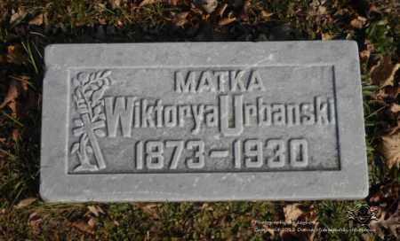 URBANSKI, WIKTORYA - Lucas County, Ohio | WIKTORYA URBANSKI - Ohio Gravestone Photos