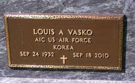 VASKO, LOUIS - Lucas County, Ohio | LOUIS VASKO - Ohio Gravestone Photos