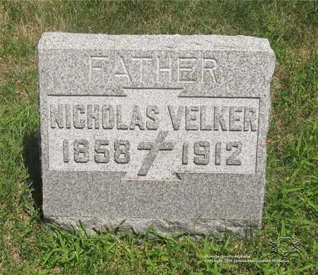 VELKER, NICHOLAS - Lucas County, Ohio | NICHOLAS VELKER - Ohio Gravestone Photos
