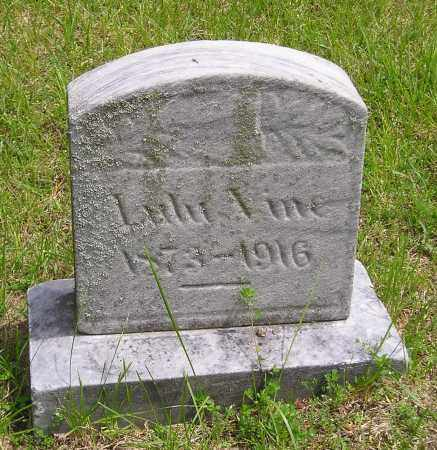 VINE, LULU - Lucas County, Ohio | LULU VINE - Ohio Gravestone Photos
