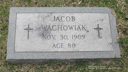 WACHOWIAK, JACOB - Lucas County, Ohio | JACOB WACHOWIAK - Ohio Gravestone Photos