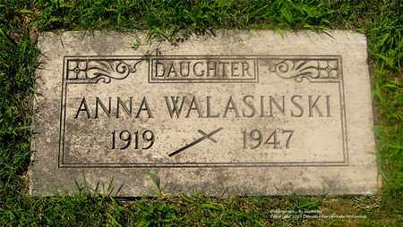WALASINSKI, ANNA - Lucas County, Ohio | ANNA WALASINSKI - Ohio Gravestone Photos