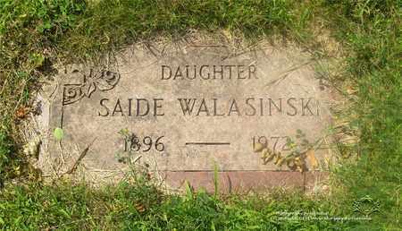 WALASINSKI, SADIE - Lucas County, Ohio | SADIE WALASINSKI - Ohio Gravestone Photos