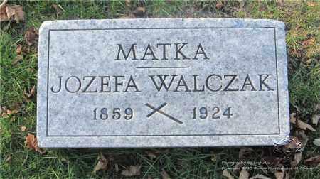 KROL WALCZAK, JOZEFA - Lucas County, Ohio | JOZEFA KROL WALCZAK - Ohio Gravestone Photos