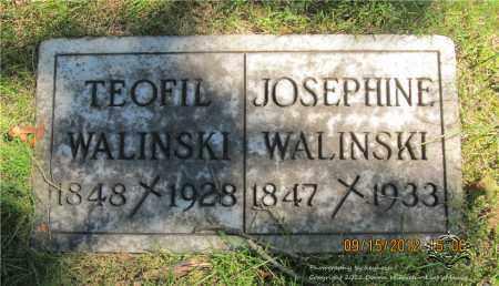 WALINSKI, JOSEPHINE - Lucas County, Ohio | JOSEPHINE WALINSKI - Ohio Gravestone Photos