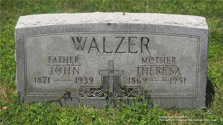 BAUER WALZER, THERESA - Lucas County, Ohio | THERESA BAUER WALZER - Ohio Gravestone Photos