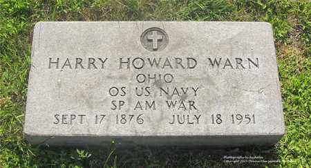 WARN, HARRY HOWARD - Lucas County, Ohio | HARRY HOWARD WARN - Ohio Gravestone Photos
