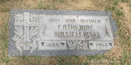 JAGIELSKI WASIELEWSKI, CATHERINE - Lucas County, Ohio | CATHERINE JAGIELSKI WASIELEWSKI - Ohio Gravestone Photos