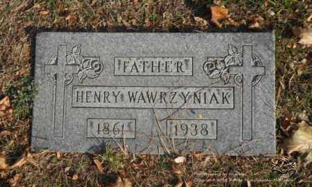 WAWRZYNIAK, HENRY - Lucas County, Ohio | HENRY WAWRZYNIAK - Ohio Gravestone Photos
