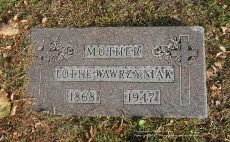 LISIAKOWSKI WAWRZYNIAK, LOTTIE - Lucas County, Ohio | LOTTIE LISIAKOWSKI WAWRZYNIAK - Ohio Gravestone Photos