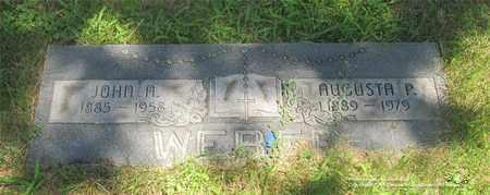 WEBER, JOHN A. - Lucas County, Ohio | JOHN A. WEBER - Ohio Gravestone Photos
