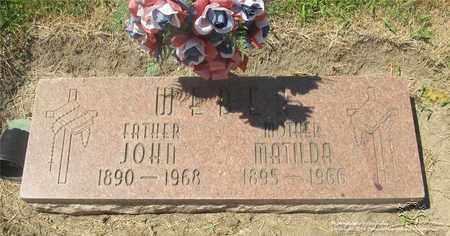 WEBER, JOHN - Lucas County, Ohio | JOHN WEBER - Ohio Gravestone Photos