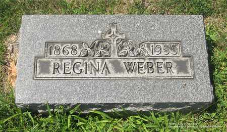WEBER, REGINA - Lucas County, Ohio | REGINA WEBER - Ohio Gravestone Photos